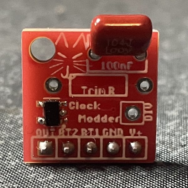 Clock Modder board, pre-built version